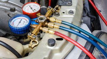 A.C.H. Autos Telford vehicle air conditioning service image.