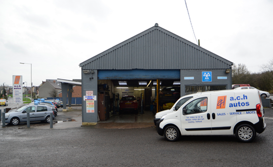 A.C.H. Autos Telford exterior view of premises.