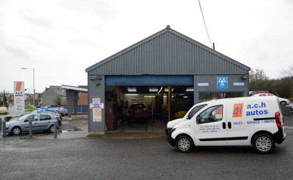 A.C.H. Autos Telford vehicle garage exterior image.
